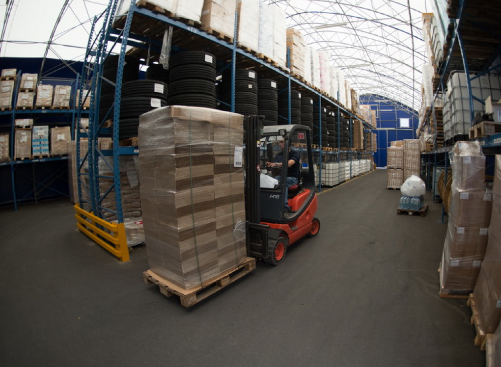 Novo skladišče pri logističnem centru Vrhnika